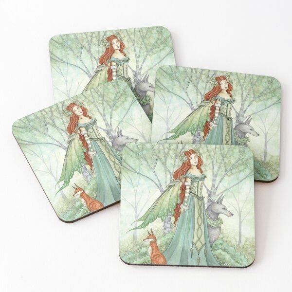Woodland Guardians Coasters (Set of 4)