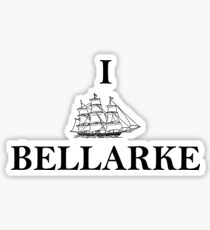 I SHIP BELLARKE Sticker