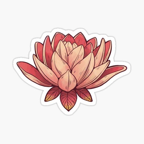 Lotus Digital Design - Rosa Sticker
