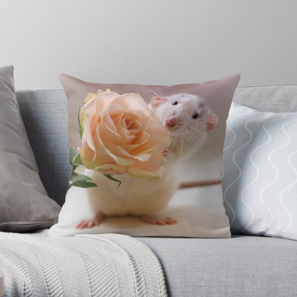 A rose for you... Throw Pillow