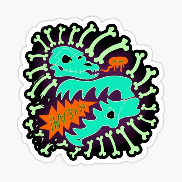 whisper SCREAM Sticker