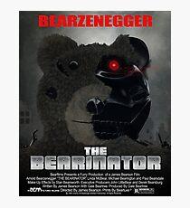 BEARINATOR Movie Poster Style Photographic Print