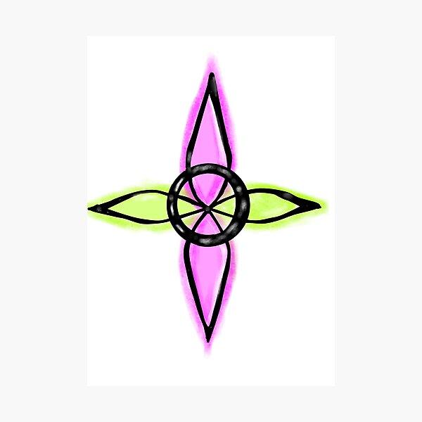 Nudo de las brujas wicca witchcraft Lámina fotográfica