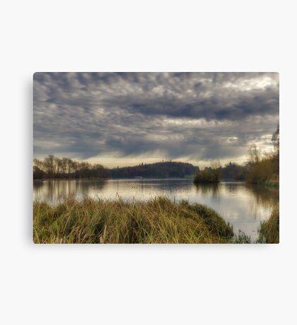 Castle Howard Lake Canvas Print