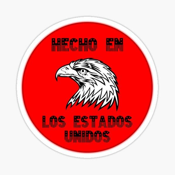 Made In America (red & black) Sticker