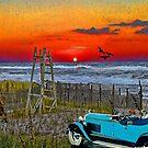 A Drive On The Beach by crimsontideguy
