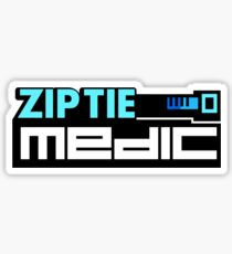 ZIP TIE medic (5) Sticker