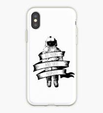 Band umwickelt Astronaut Zitat iPhone-Hülle & Cover