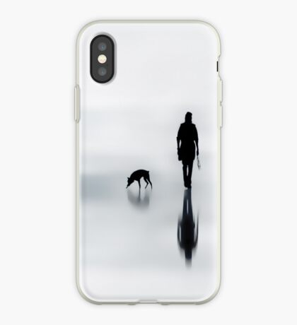 one man and his dog iPhone Case