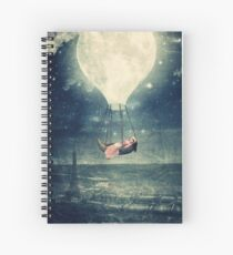 Moon Reverie Spiral Notebook