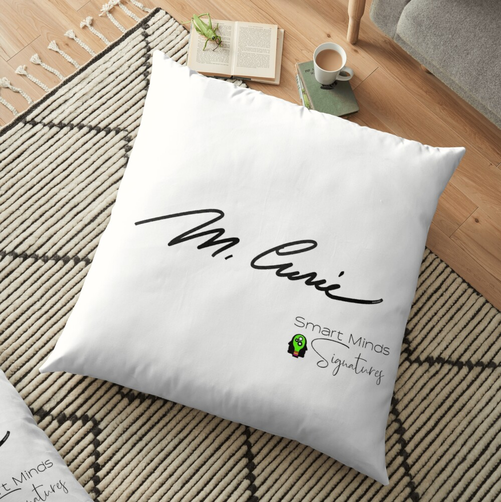 Signatures Series Marie Curie Floor Pillow