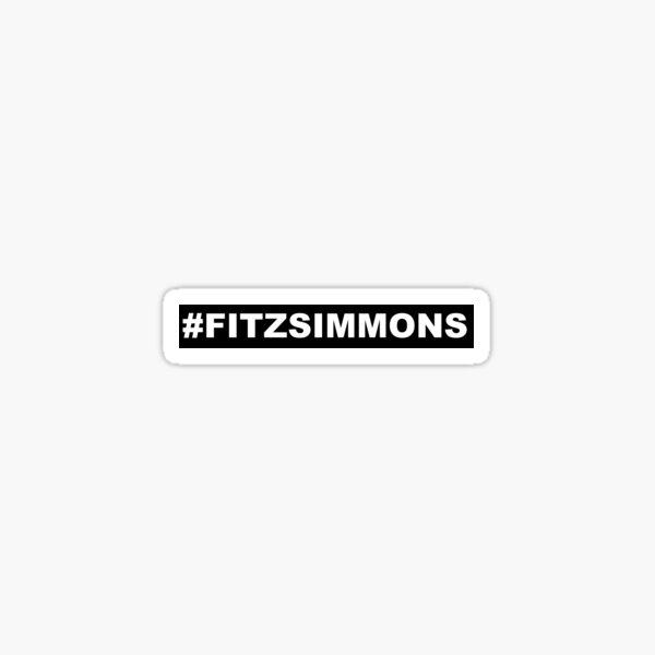 #FITZSIMMONS Sticker