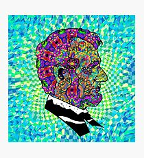 Psychedelic LSD Trip Abraham Lincoln Photographic Print