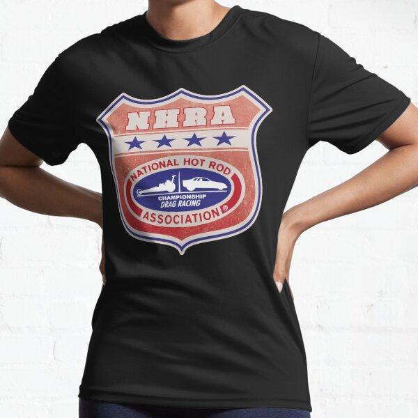 Vintage, distressed NHRA logo Active T-Shirt