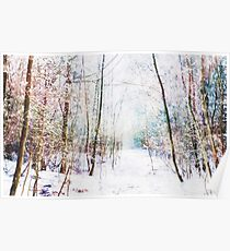 Winter Wonder Woodland Poster