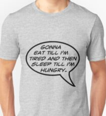 Words To Live By Slim Fit T-Shirt
