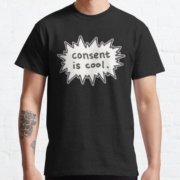 Consent is Cool Comic Flash Classic T-Shirt