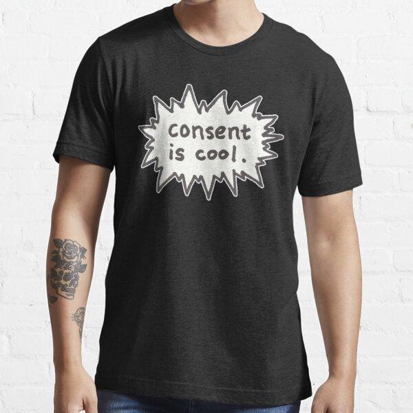 Le consentement est cool Comic Flash T-shirt essentiel