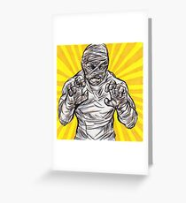 Squeaky Clean Mummy Greeting Card
