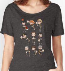 Haikyuu!! / Karasuno Chibs Tee Women's Relaxed Fit T-Shirt