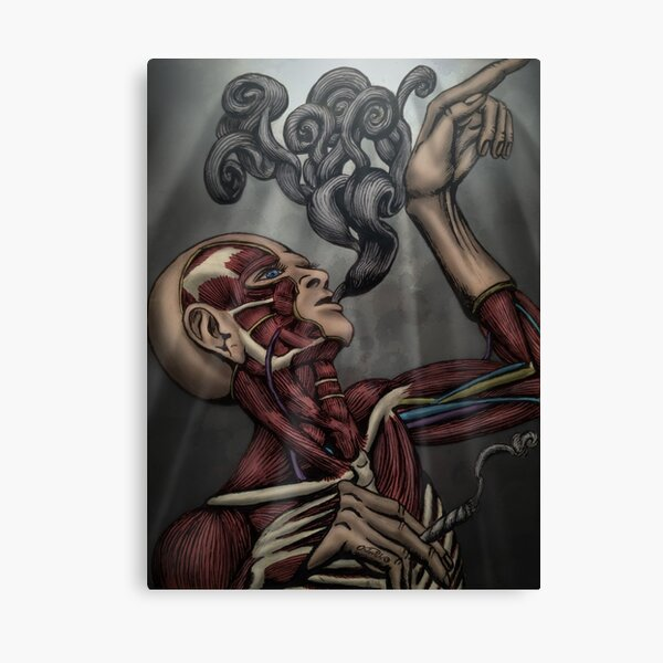 Cigarette? by Ordovich Canvas Print