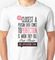 Funny Sayings, Funny office poster  Unisex T-Shirt