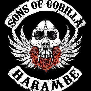 Sons of Gorilla - HARAMBE by klavieroza