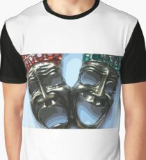 Theater masks Graphic T-Shirt