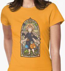 Unsere Liebe Frau der Erziehung Tailliertes T-Shirt
