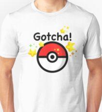 Pokemon go - Gotcha - pokeball T-Shirt