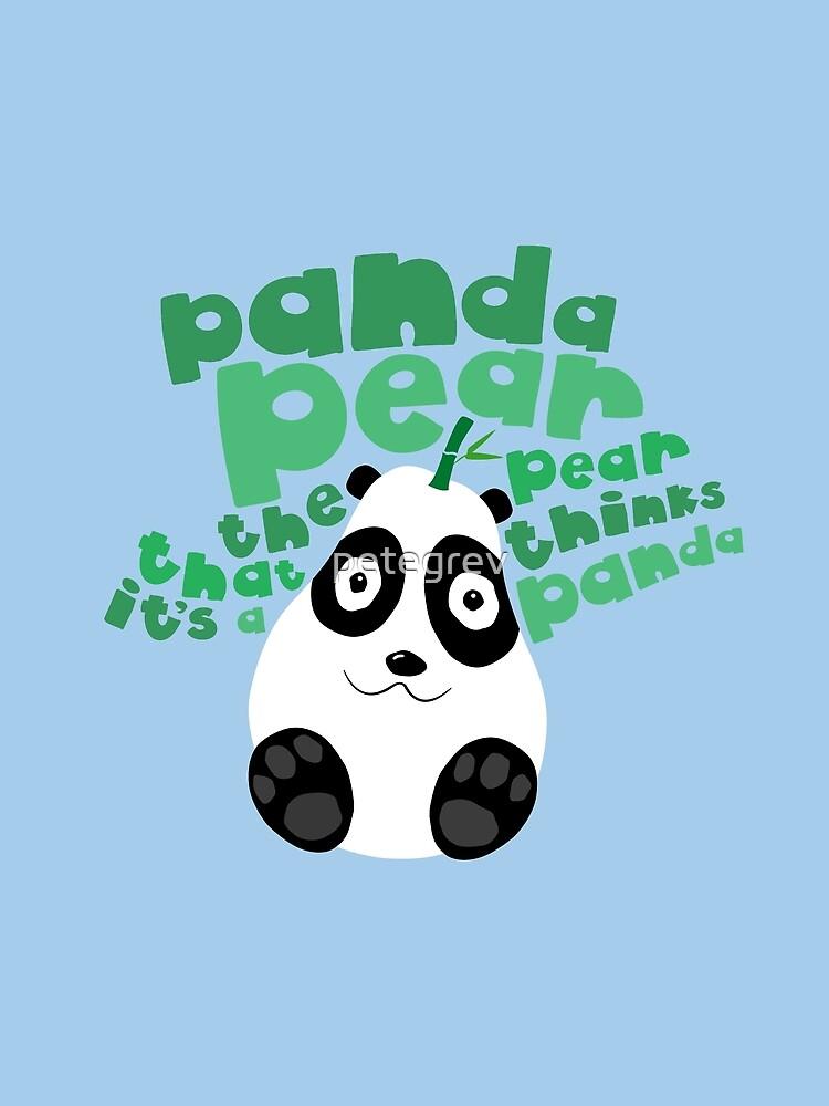 Pandapear by petegrev