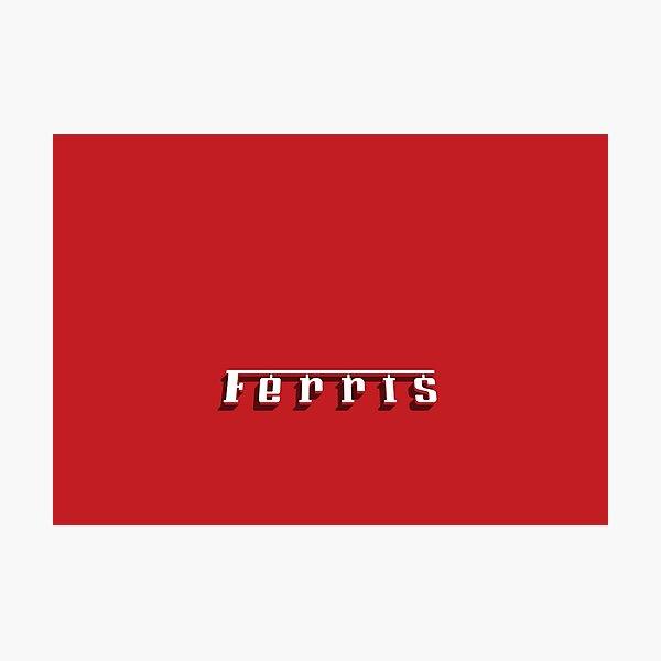Ferris 250 GT Photographic Print