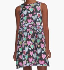 Lovehearts  A-Line Dress