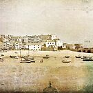 Grunge Collage St. Ives by Evelyn Flint