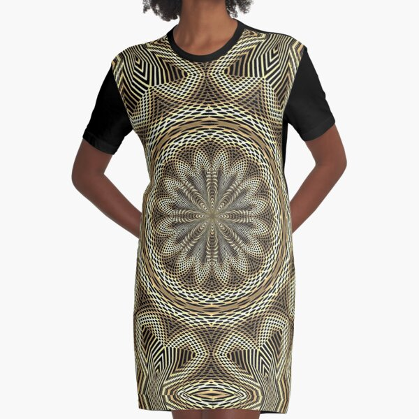 Boho Chic Bohemian 1 Graphic T-Shirt Dress