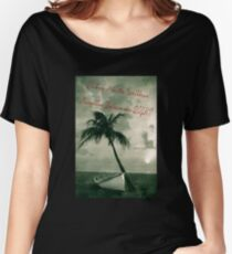 Kicking it in the Caribbean! Women's Relaxed Fit T-Shirt