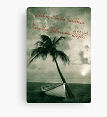 Kicking it in the Caribbean! Canvas Print