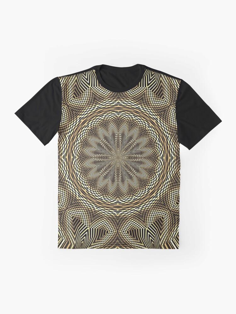 Alternate view of Boho Chic Bohemian 1 Graphic T-Shirt