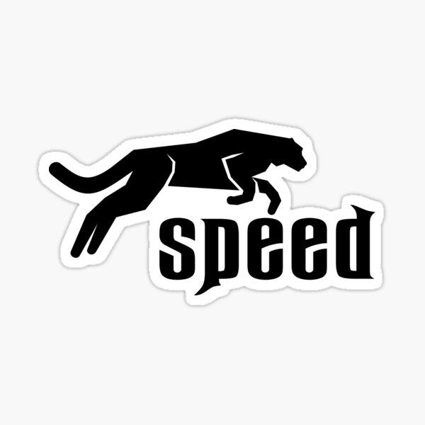Cheetah logo symbol Sticker