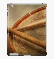 Music - Drum - Cadence  iPad Case/Skin