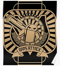 Apps Attack Poster