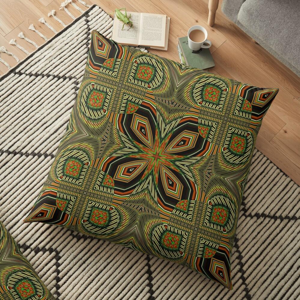 Boho Chic Bohemian 2 Floor Pillow