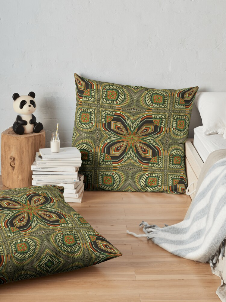 Alternate view of Boho Chic Bohemian 2 Floor Pillow