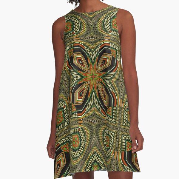 Boho Chic Bohemian 2 A-Line Dress