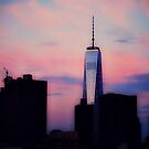 Freedom Tower at sunrise by ShellyKay