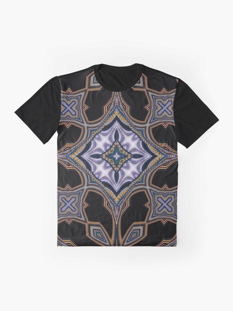 Alternate view of Boho Chic Bohemian 3 Graphic T-Shirt