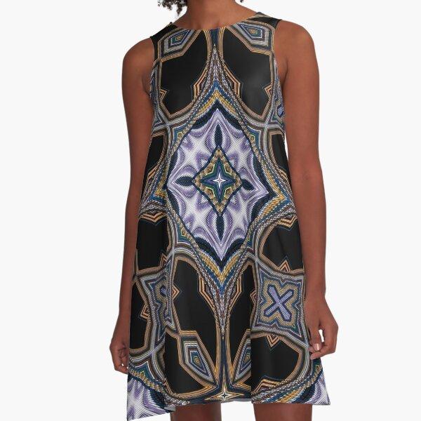Boho Chic Bohemian 3 A-Line Dress