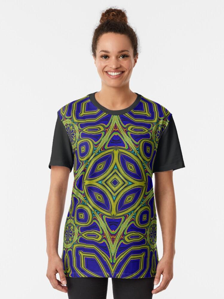 Alternate view of Boho Chic Bohemian 4 Graphic T-Shirt