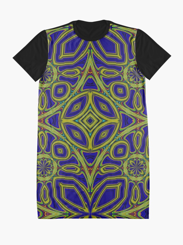 Alternate view of Boho Chic Bohemian 4 Graphic T-Shirt Dress