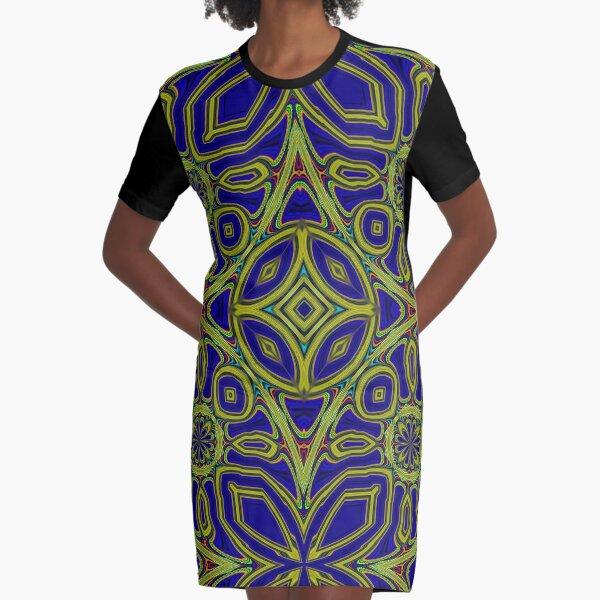 Boho Chic Bohemian 4 Graphic T-Shirt Dress